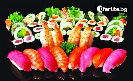 Суши сет с 38, 58 или 78 хапки