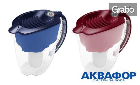 Кана Аквафор Престиж с филтър В100-5, или комплект филтри по избор - за чиста вода на трапезата