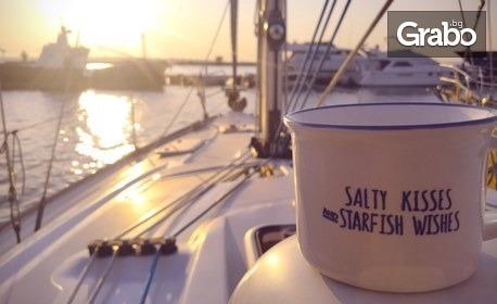 1 час наем на яхта за до 10 човека край Созопол