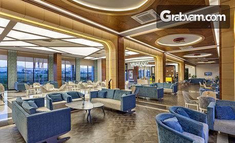 Почивка в Сиде! 7 нощувки на база Ultra All Inclusive в хотел Glamour Resоrt 5*