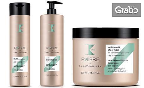 Иновативна терапия за увредена и третирана коса Phibre на K-Time Italy