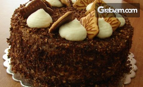 "Торта ""Орео"" или ""Боровинков йогурт"" - с 8 парчета"