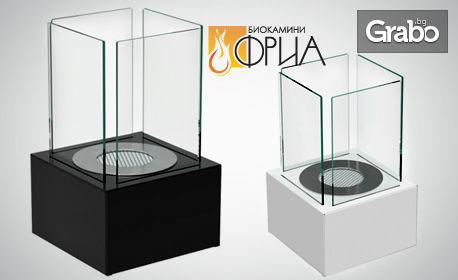 Декоративна биокамина - модел по избор
