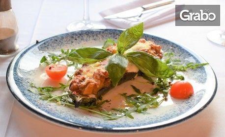 Автентична Osteria в Пловдив! Салата и основно ястие по избор с неподправен италиански вкус