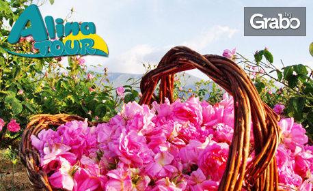 Еднодневна екскурзия до Казанлък за Празника на розата на 18 Май, плюс посещение на град Шипка
