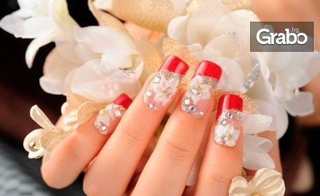 Цветни нокти! Лакиране, маникюр или ноктопластика с гел лак, от 22 Beauty & Spa