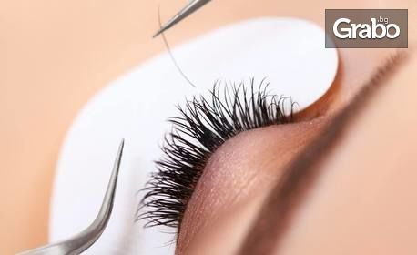 """Поставяне на мигли по метода """"косъм по косъм"""" или 3D миглопластика"""