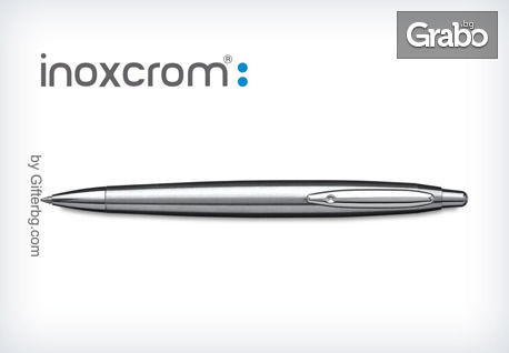 Гравирана химикалка от Inoxcrom с 50% намаление
