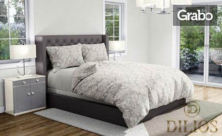 """Внеси естетика в спалнята! Комплект """"Рококо Винъс"""" от 100% ранфорс - единичен или двоен"""