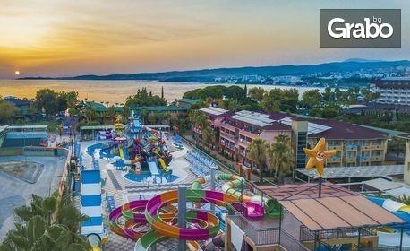 Луксозна почивка в Алания! 7 нощувки нa база Ultra All Inclusive в Хотел Lonicera Resort & SPA***** в Тюрклер