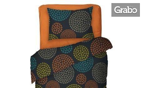 """Единичен или двоен спален комплект """"Вива"""" от 100% памук"""