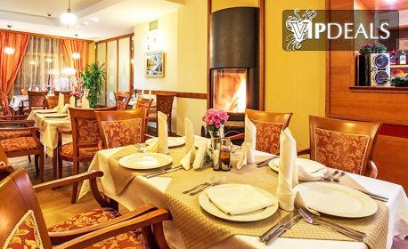 През Декември в Боровец! Нощувка със закуска и вечеря, плюс ползване на финландска сауна или джакузи