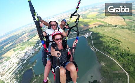 Полет с парапланер за двама - над Шуменското плато или Мадара, плюс видеозаснемане