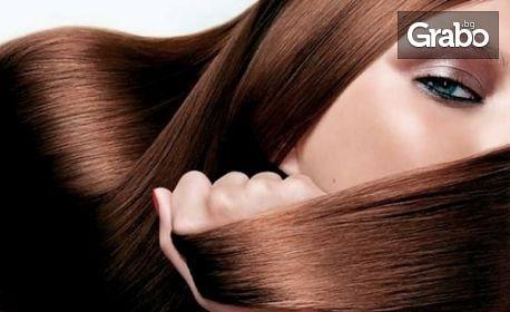 Полиране на коса и изправяне със сешоар, или арганова терапия и подстригване
