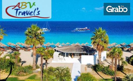 изображение за оферта Почивка на изумрудения остров Тасос! 3 нощувки със закуски и вечери, плюс транспорт и посещение на Кавала, от ABV Travels