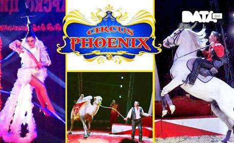 Вход за спектакъл на Цирк Феникс - от 12 до 16 Юни