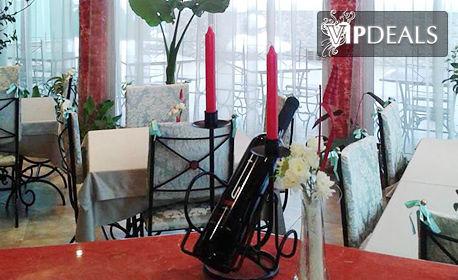 Свети Валентин за двама в Трявна! 2 нощувки със закуски и една вечеря с бутилка вино