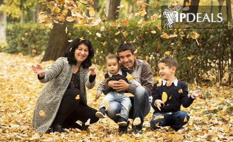 Есенна фотосесия на открито с 8 обработени кадъра
