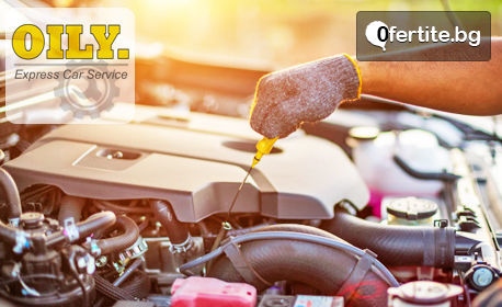 4 литра двигателно масло Nisotec 15W40 или Mobil 10W40, маслен филтър и смяна, плюс пълна проверка на автомобила