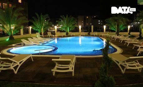 През Юни в Слънчев бряг! 3 или 5 нощувки за двама възрастни и дете до 11г, плюс ползване на басейн