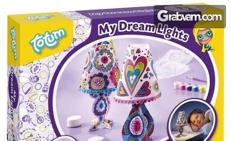 """Детски комплект """"Направи сам"""" на Totum по избор - бижута, касичка или нощна лампа"""