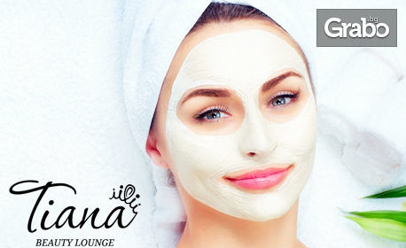 Почистване на лице и оформяне на вежди, терапия според типа кожа или масаж на лице и скалп с ароматерапия