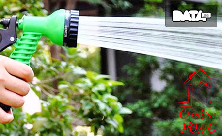 Градински маркуч за поливане с дължина 7.5 или 15 метра