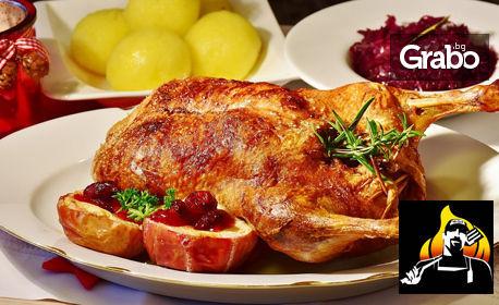 Вкусно хапване за вкъщи! Цяло пиле на грил с гарнитура картофки на грил, от Mr. Grill