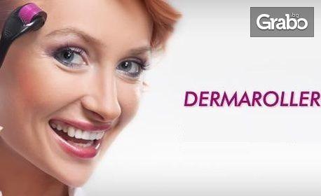 Дермаролер с 540 микроигли за лице и тяло - за премахване на белези, стрии, косопад, целулит, бръчки и хиперпигментация