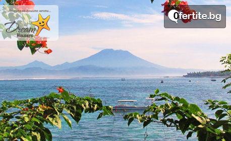 Посети остров Бали! 7 нощувки със закуски, плюс самолетен транспорт