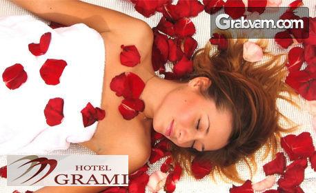 """135 минути SPA ритуал """"Кралица Роза"""" - пилинг и лимфодренажен масаж на цяло тяло, маска за лице и парна баня"""