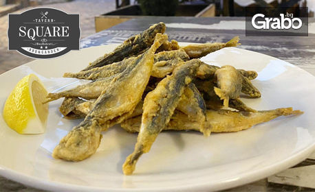 Пържен сафрид и хрупкав домашен чипс