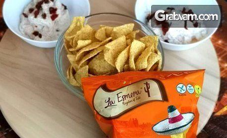 1кг безглутенов начос La Esmera с вкус по избор