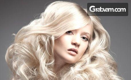 Дълбоко възстановяваща кератинова терапия за коса с инфраред UV преса и оформяне