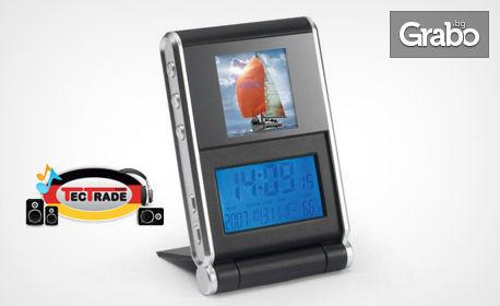 Дигитална фоторамка Lenco с памет 16 МB за до 60 снимки