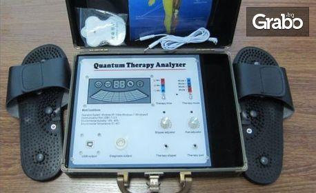 Квантова диагностика с биоскенер на 245 здравни показателя, плюс анализ и оздравителна програма
