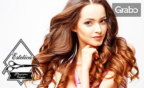 Измиване на коса и оформяне на прическа