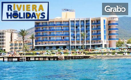 Морски релакс край Кушадасъ! 7 нощувки на база All Inclusive във Faustina Beach Hotel & SPA 4*