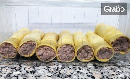 Сурова прясна паста за вкъщи! 1000гр лазаня с биволска моцарела