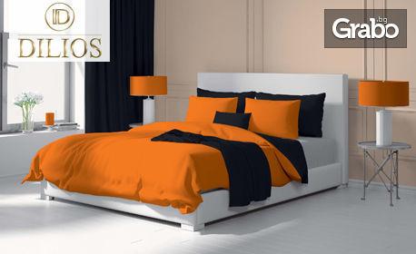 Единичен, двоен или макси спален комплект от Ранфорс 100% памук - модел по избор