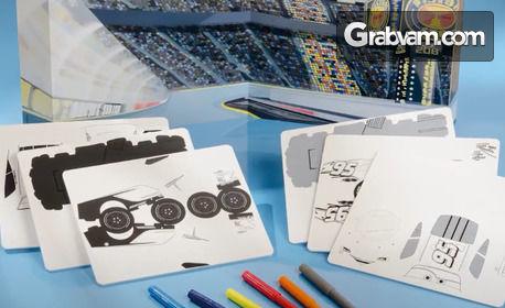 Детски креативен комплект Cars 3 на Totum