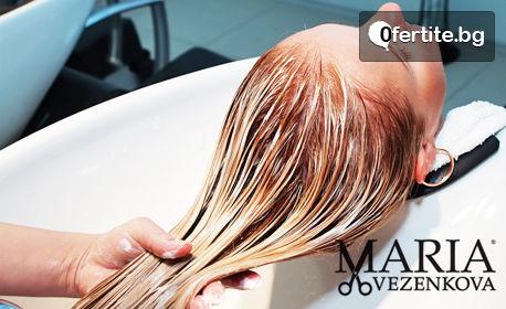 Кератинова терапия и ламиниране на коса с преса Joico
