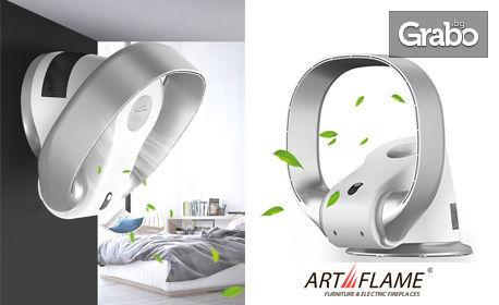 Комфорт у дома и в офиса! Последно поколение вентилатор - за охлаждане или охлаждане и отопление