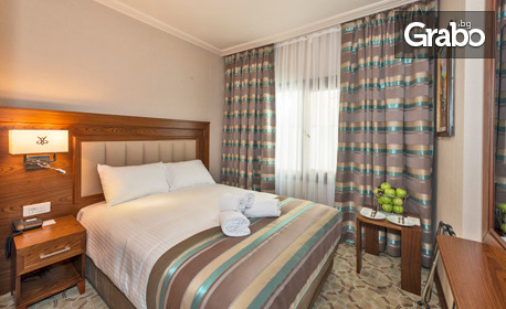 За Formula 1 в Истанбул! 2 нощувки със закуски в хотел Bekdas****, плюс транспорт и посещение на Лозенград