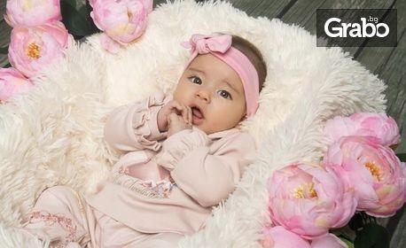 Професионална детска или бебешка фотосесия с 5 или 10 обработени кадъра