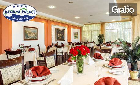 Почивка в Банкя! 1 или 2 нощувки със закуски, плюс обеди или вечери и ползване SPA и соларум