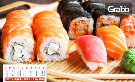 Суши сет по избор - с 14 или 30 хапки
