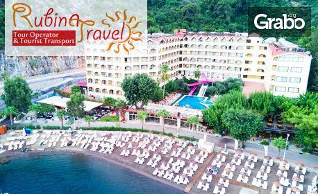 изображение за оферта Почивка в Мармарис! 7 нощувки на база All Inclusive в хотел Golmar Beach 4*, от Рубина Травел