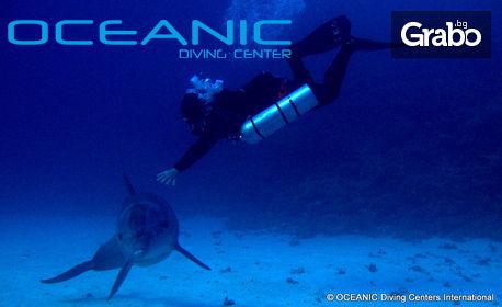 Морско приключение в Халкидики, Гърция! Водолазен курс за начинаещи Open Water Diver