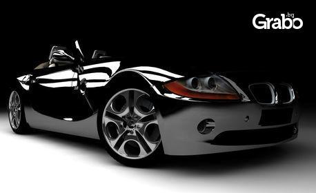 Ръчно нанасяне на нано покритие полимер Sonax на лек автомобил